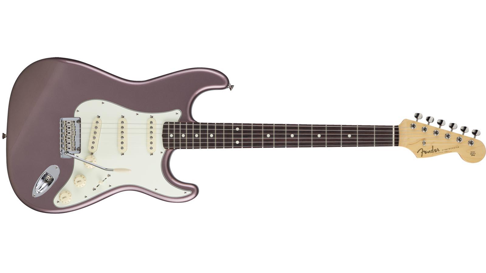 Fender MIJ Hybrid 60s Strat RW BMM Burg Mist Metalic