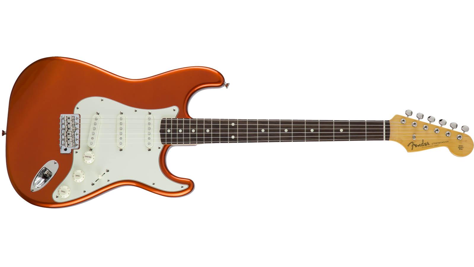 Fender MIJ Traditional 60s Strat RW CRT Candy Tangerine