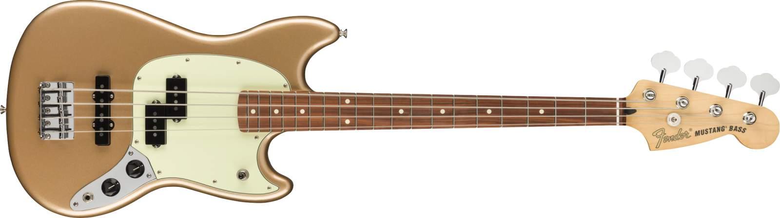 Fender Player Mustang Bass PJ PF FMG