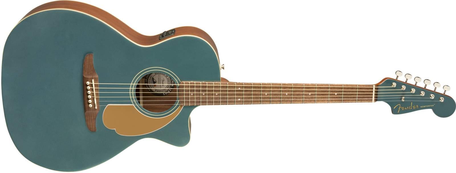 Fender Newporter Player Ocean Teal