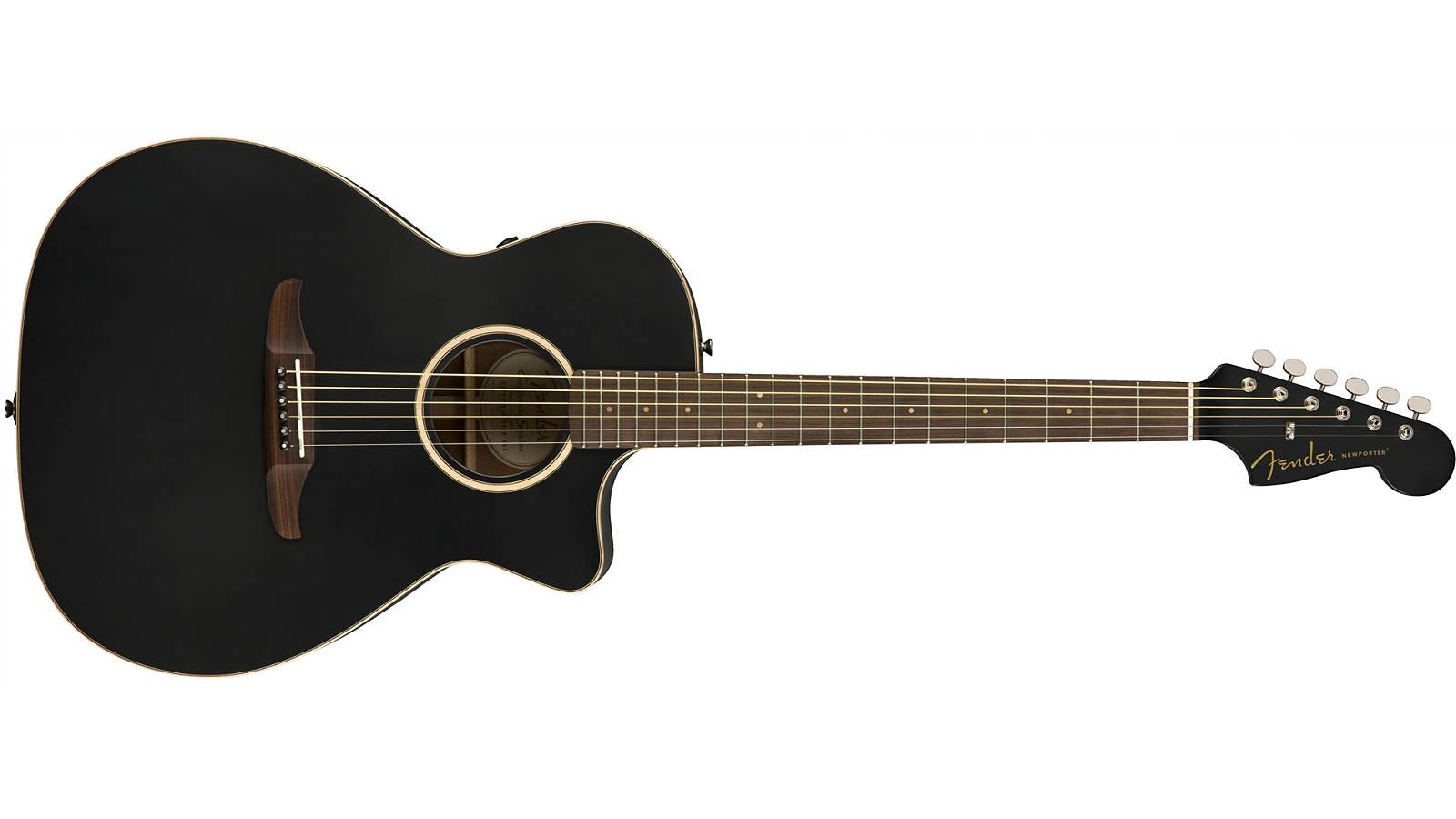 Fender Newporter Special Matte Black