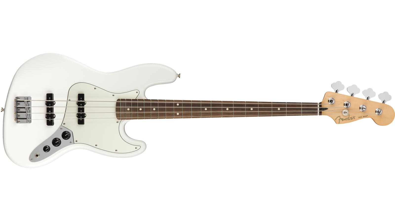 Fender Player Jazz Bass PF PWT Polar White