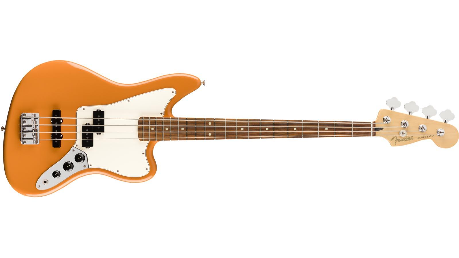 Fender Player Jaguar Bass PF CAO capri orange