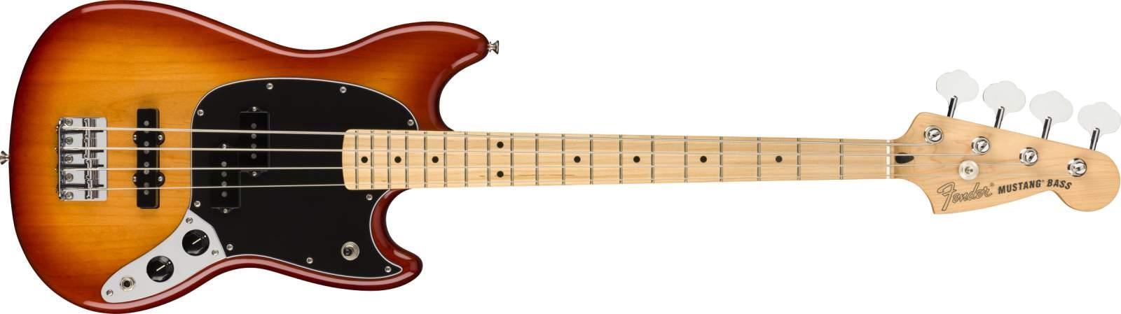Fender Player Mustang Bass PJ PF SSB