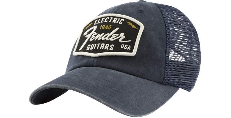 Fender Raglan Bones Fender Electric Hat Navy