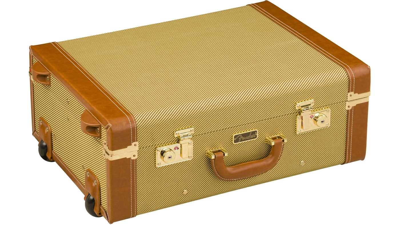 Fender Reisekoffer Tweed mit Rollen - LIMITED