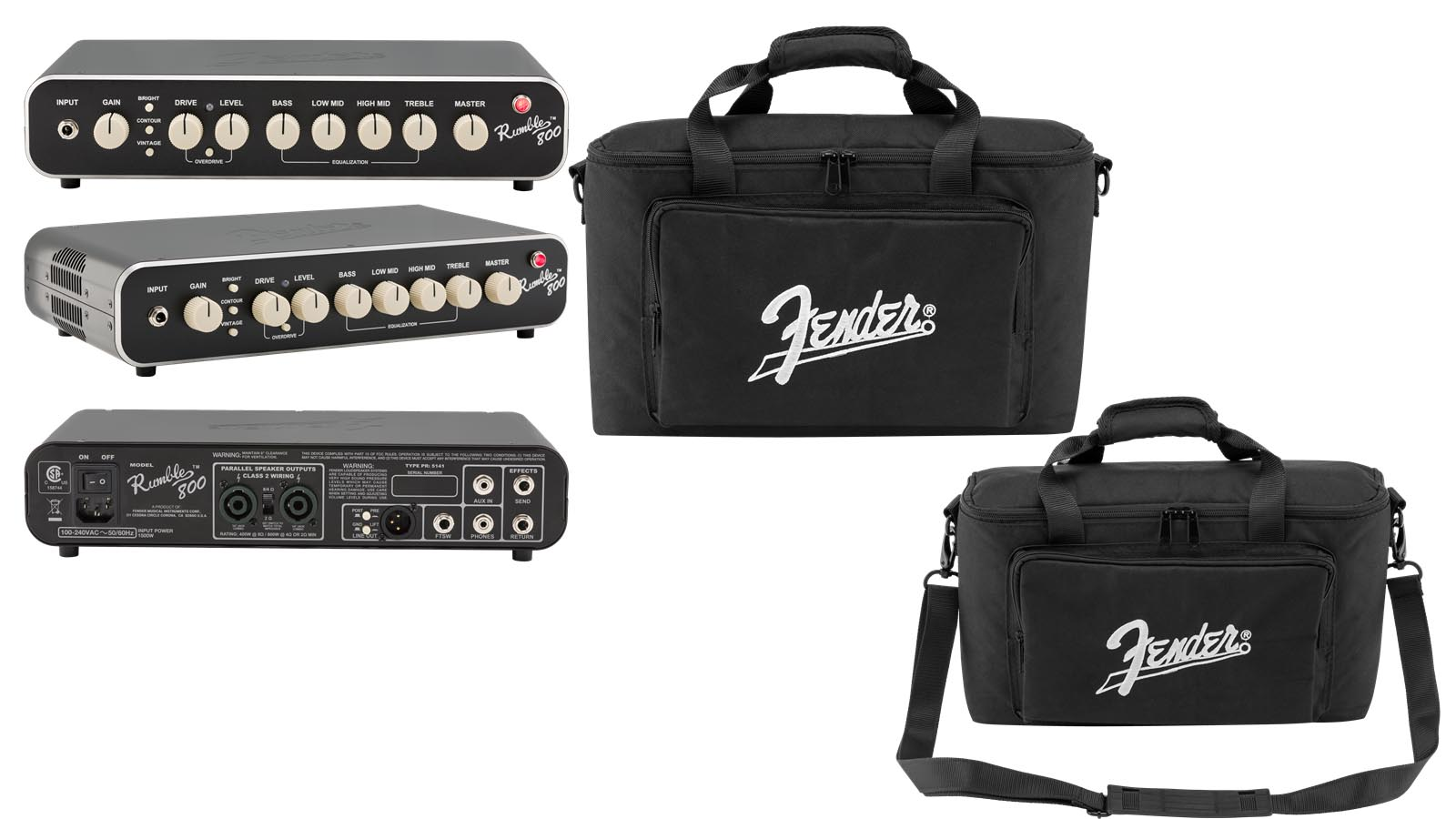 Fender Rumble 800 HD Topteil