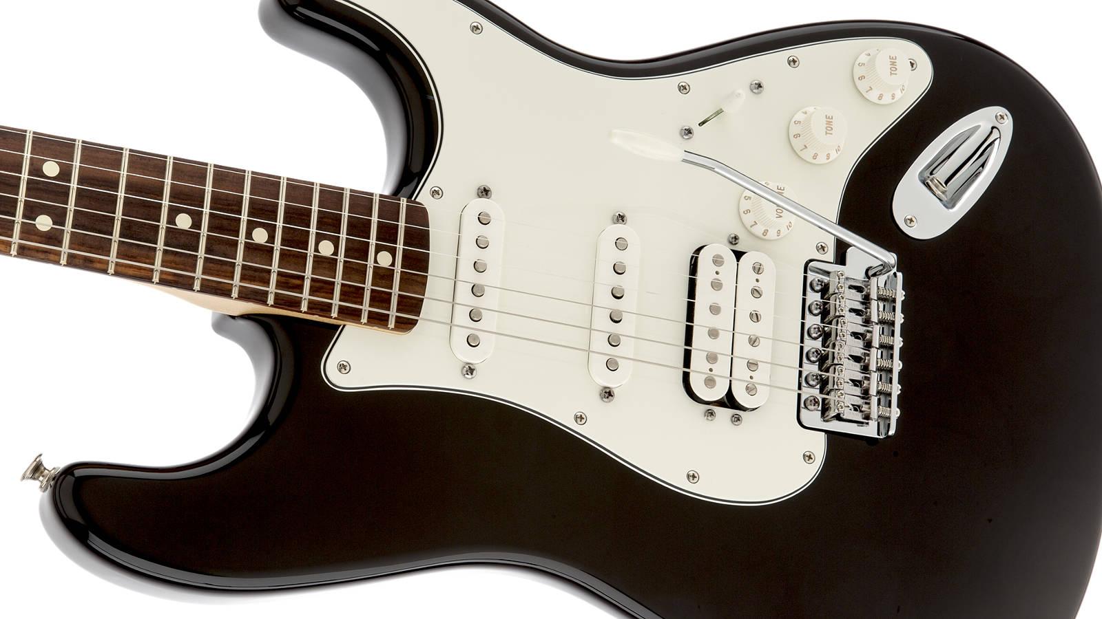 Fender Standard Stratocaster HSS PF Black
