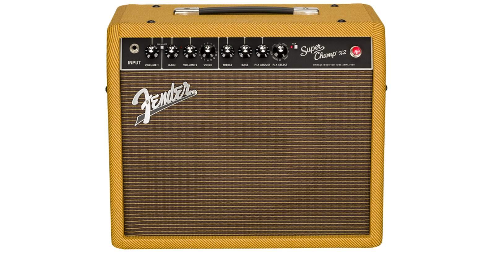 Fender Super Champ X2 LTD Cajun Combo tweed