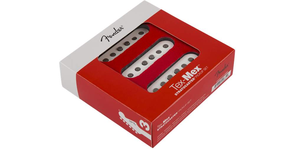 Fender Tex-Mex Strat Pickup Set White