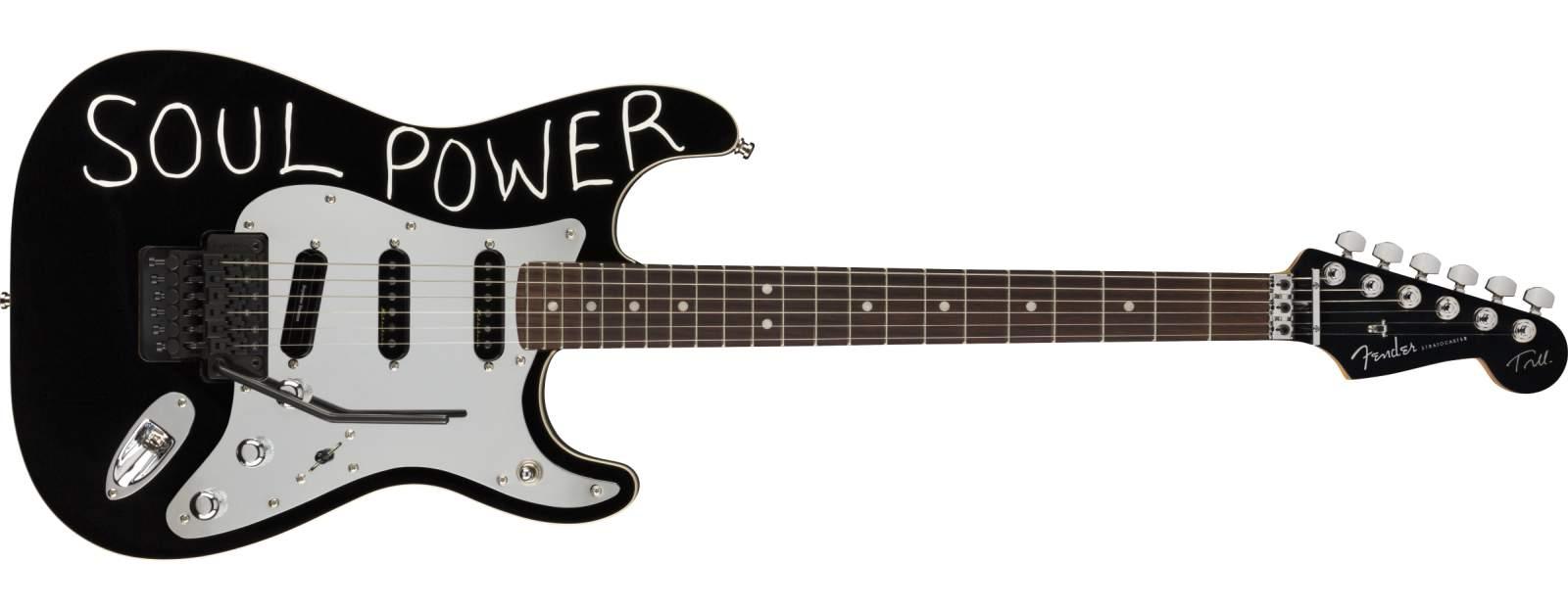 Fender Tom Morello Stratocaster RW BLK