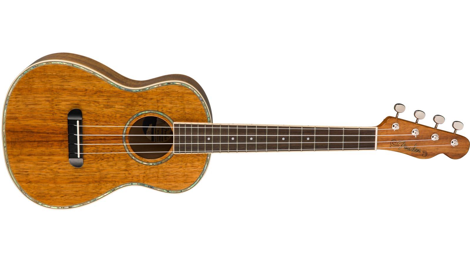 Fender Ukulele Montecito Tenor Ukulele KOA