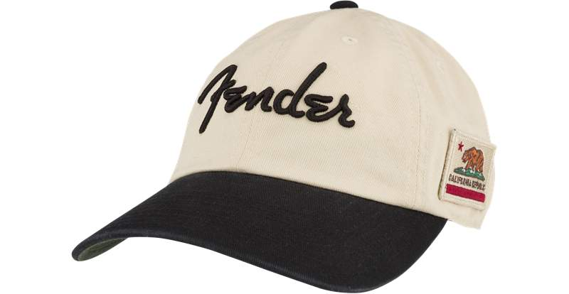 Fender United Slouch Hat Cream Blk