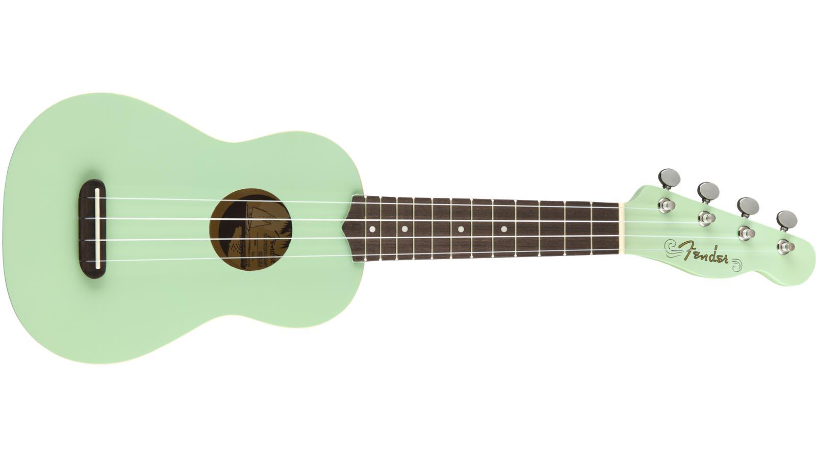 Fender Venice Soprano Ukulele SG Surf Green
