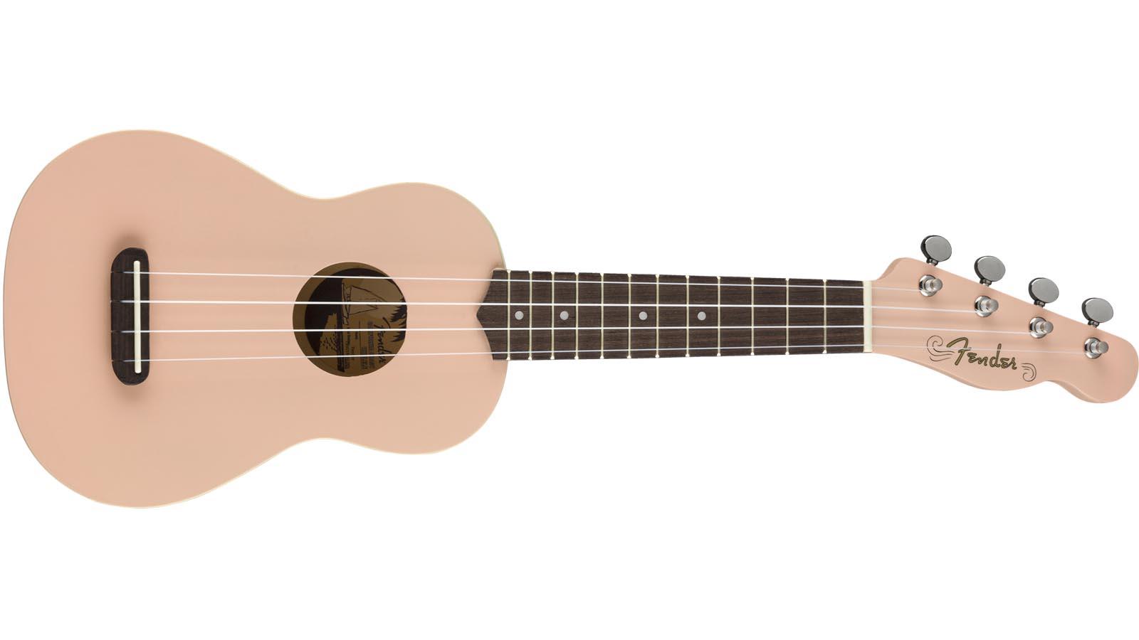 Fender Venice Soprano Ukulele SP Shell Pink