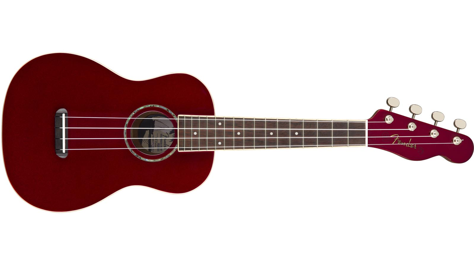 Fender Zuma Concert Ukulele CAR Candy Apple Red
