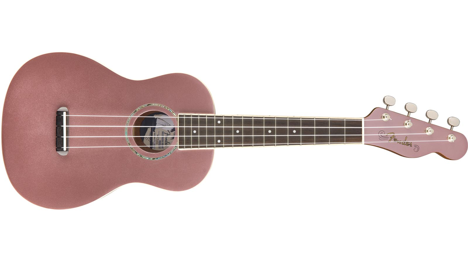 Fender Zuma Concert Ukulele BGM Burgundy Mist