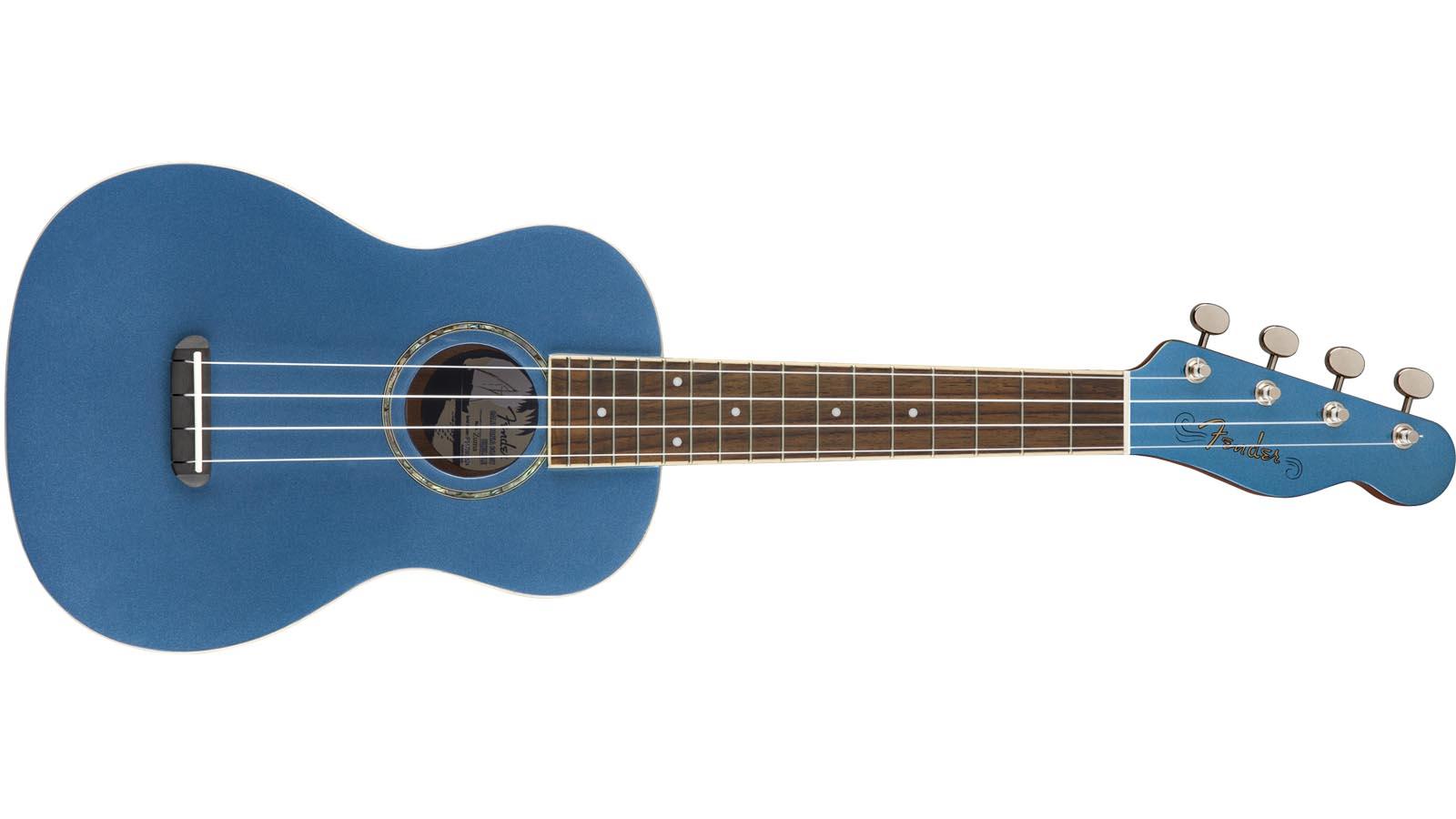 Fender Zuma Concert Ukulele LPB Lake Placid Blue