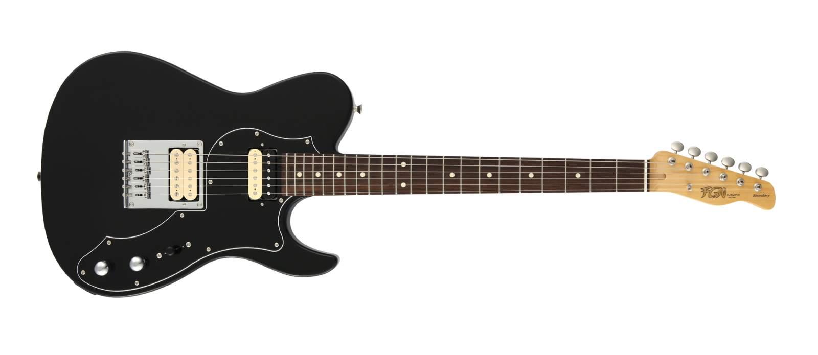 FGN Boundary Iliad HH BLK E-Gitarre
