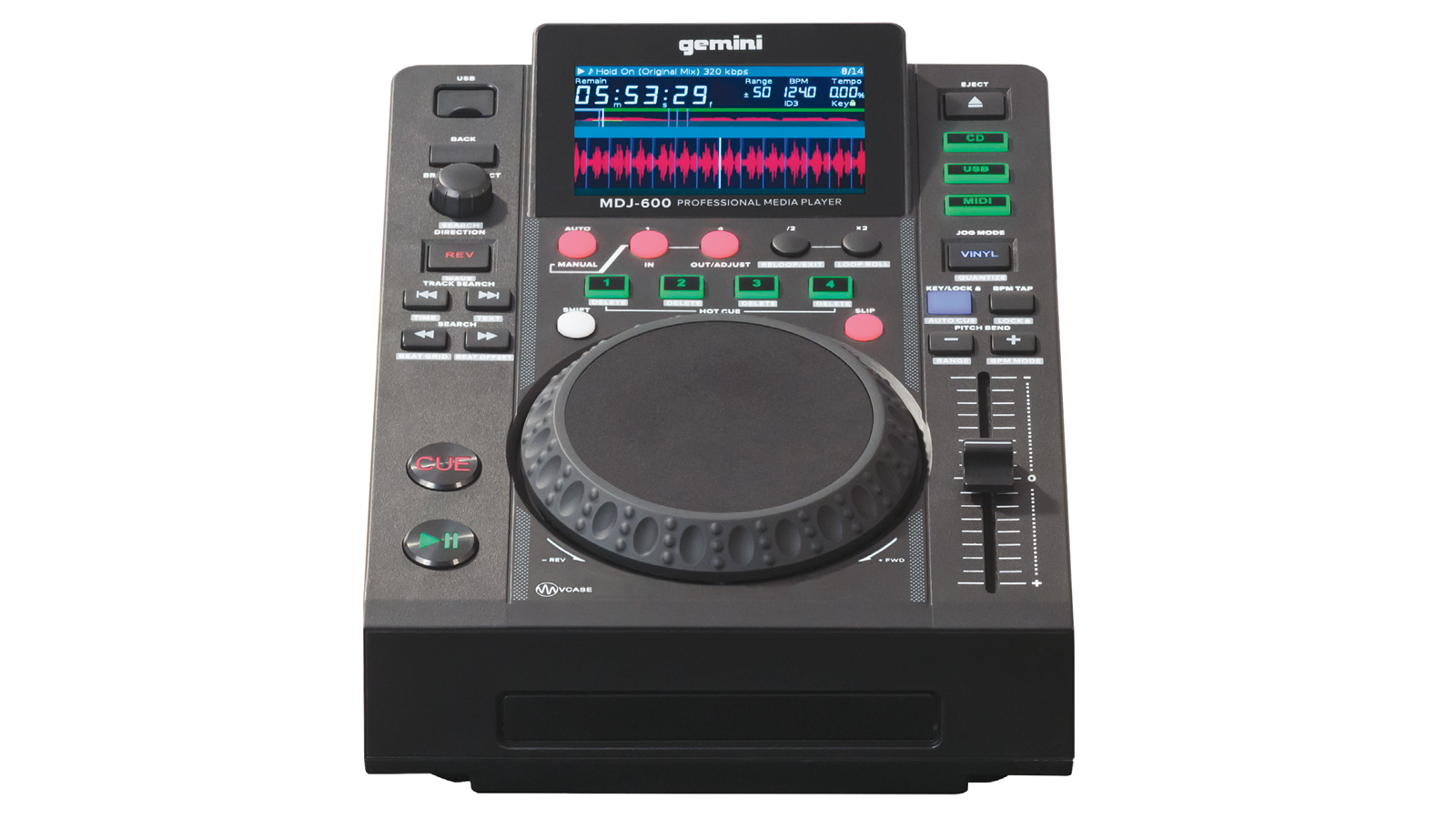 Gemini MDJ-600 Player