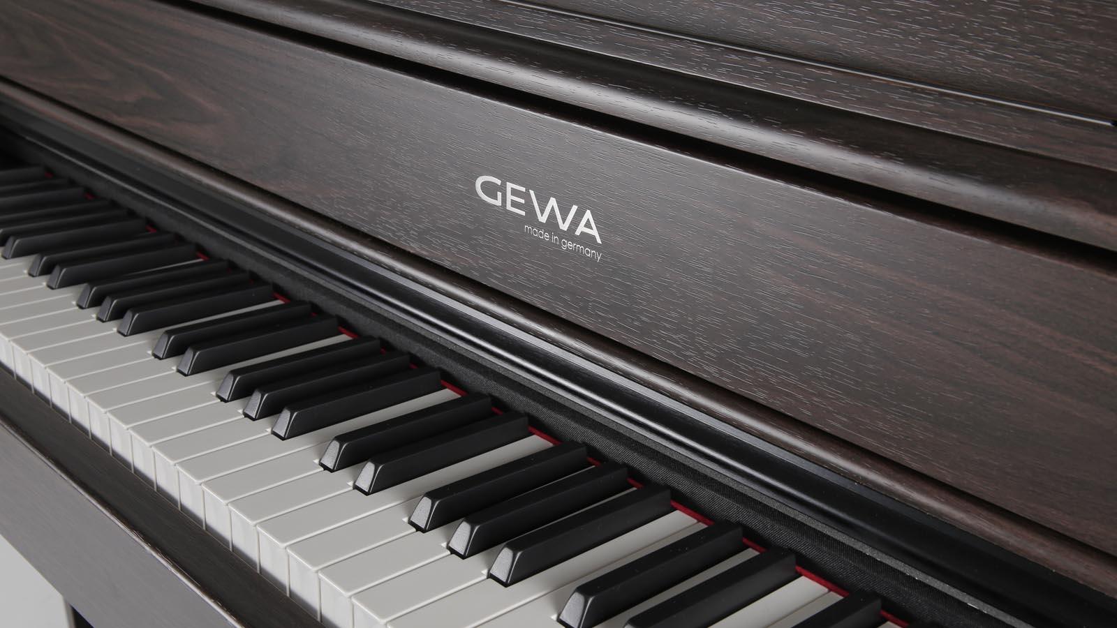 Gewa UP380WK RW E-Piano Rosewood matt Holztasten