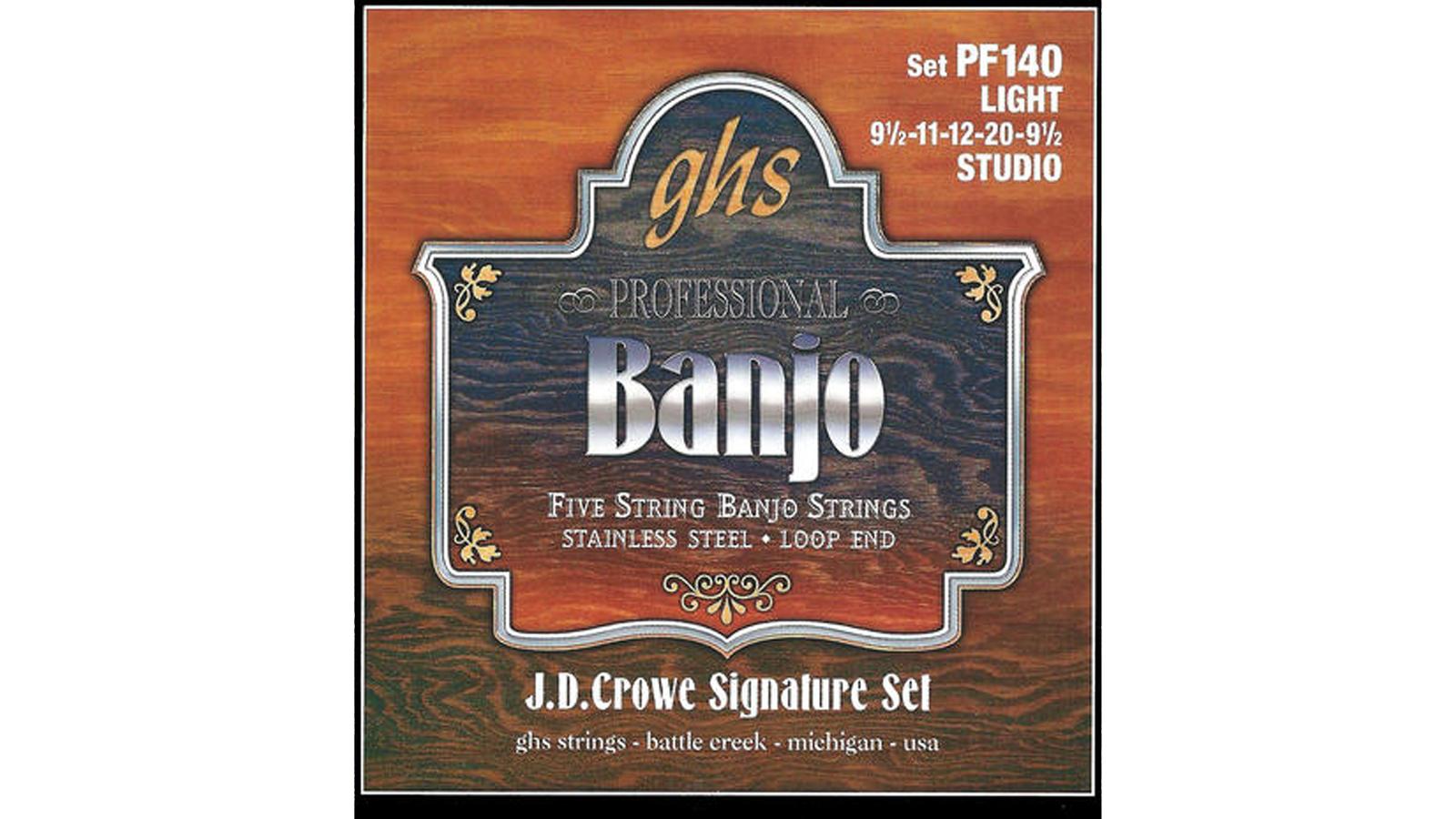 GHS PF 140 Banjo Saiten