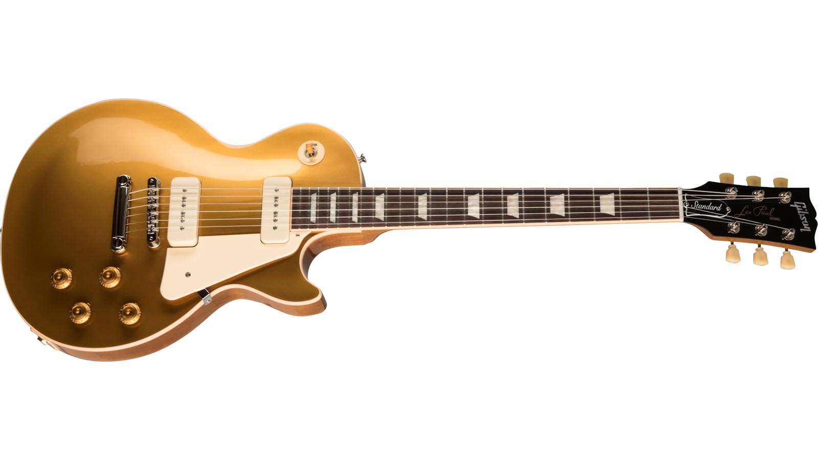 Gibson LP Std 50s P90 Gold Top