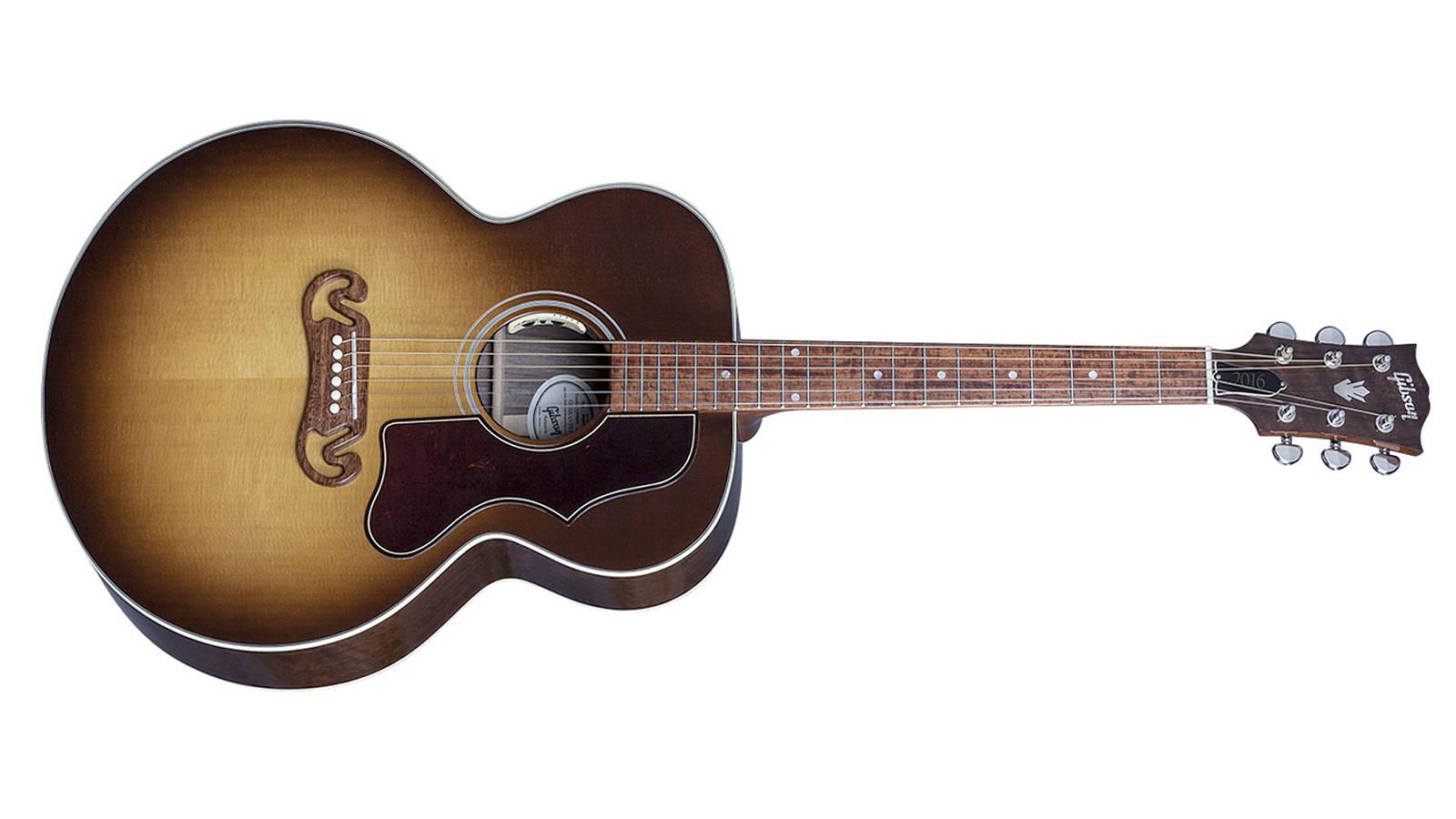 Gibson 2016 SJ-100 Walnut Honeyburst