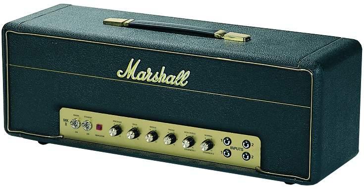 Marshall 1987 X Topteil Jimi Hendrix