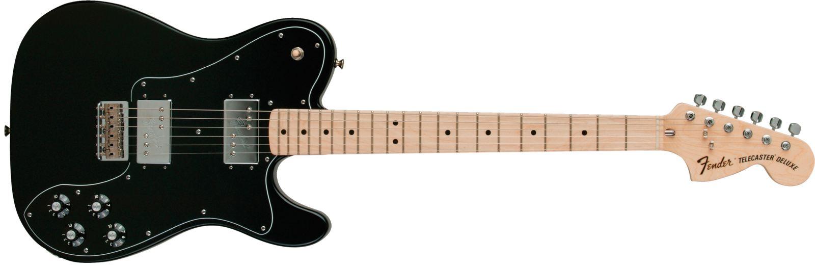 Fender Telecaster 72 Deluxe MN BLK