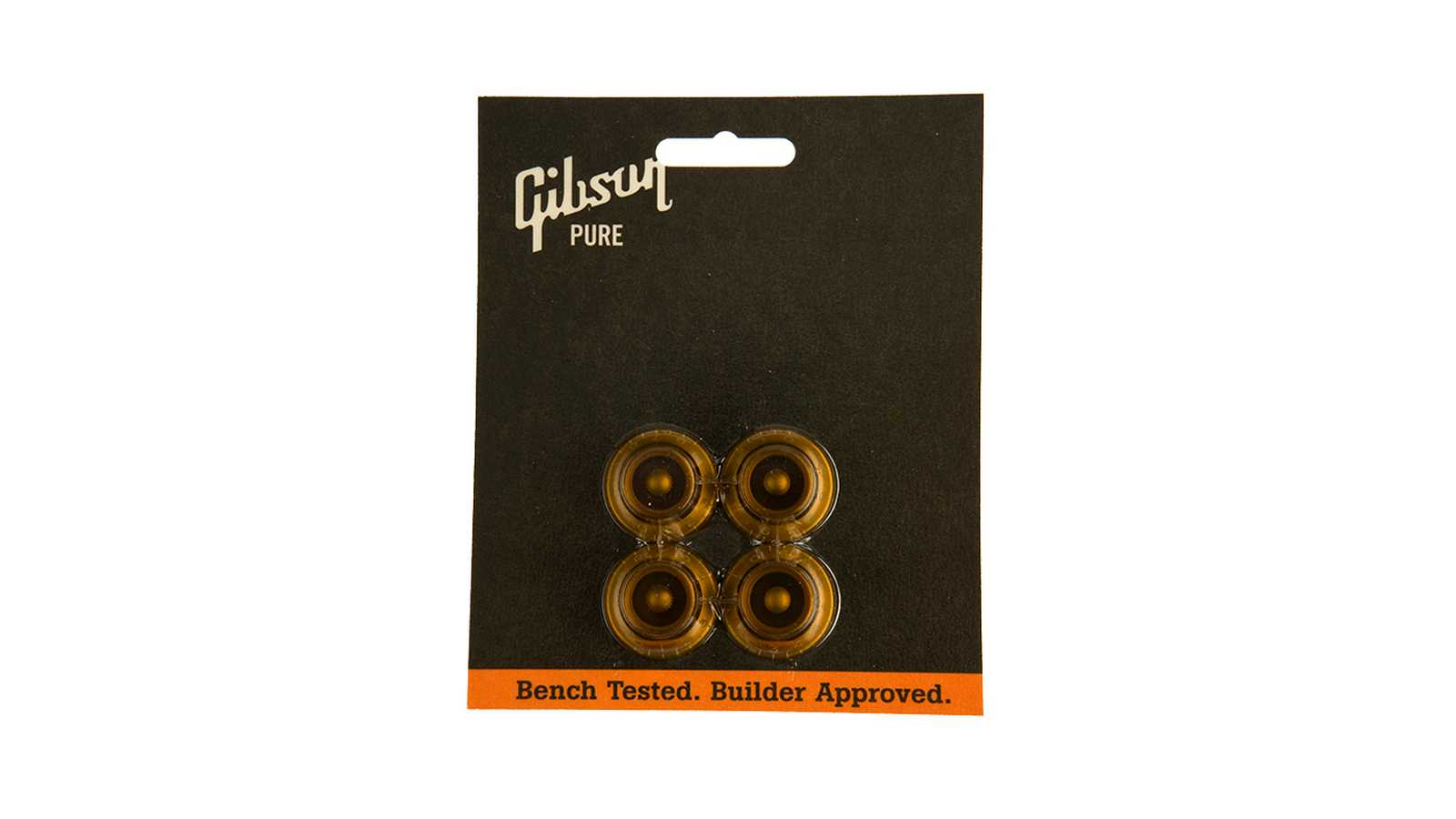 Gibson Top Hat Knobs (Vintage Amber) 4 Stck. Poti Knöpfe