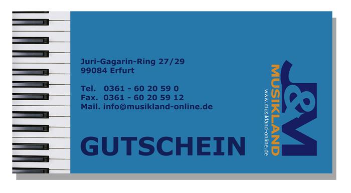 J&M Gutschein - Wert: 75 Euro