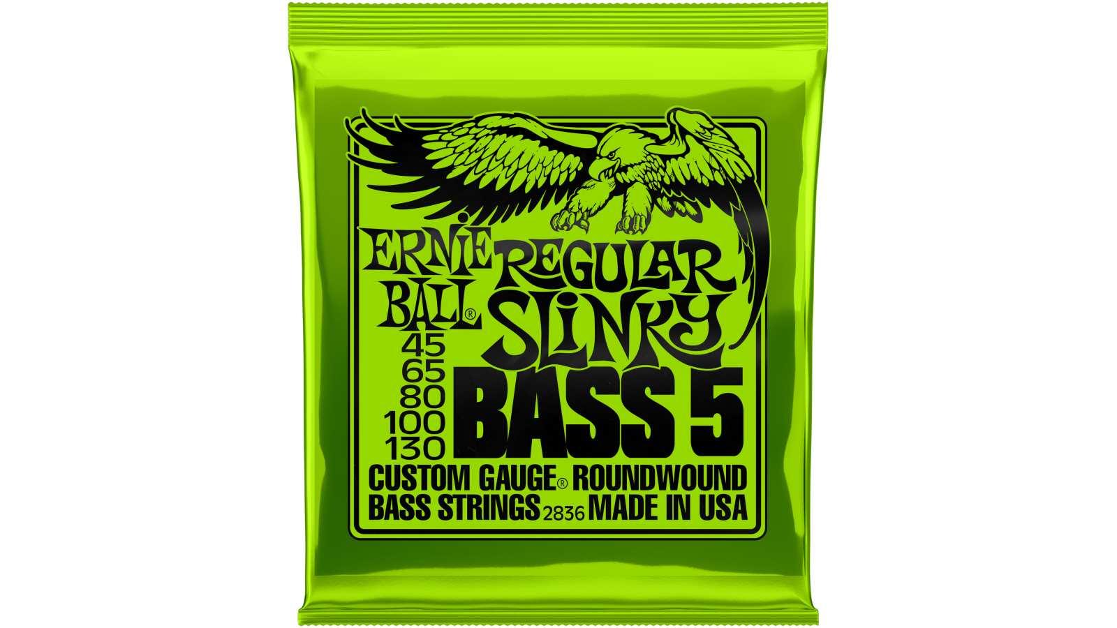 Ernie Ball EB-2836 5-String Slinky Bass Saiten 45-130