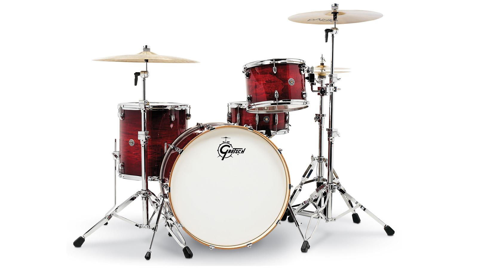 Gretsch Catalina Club Rock Drumset Gloss Crimson Burst     Aussteller
