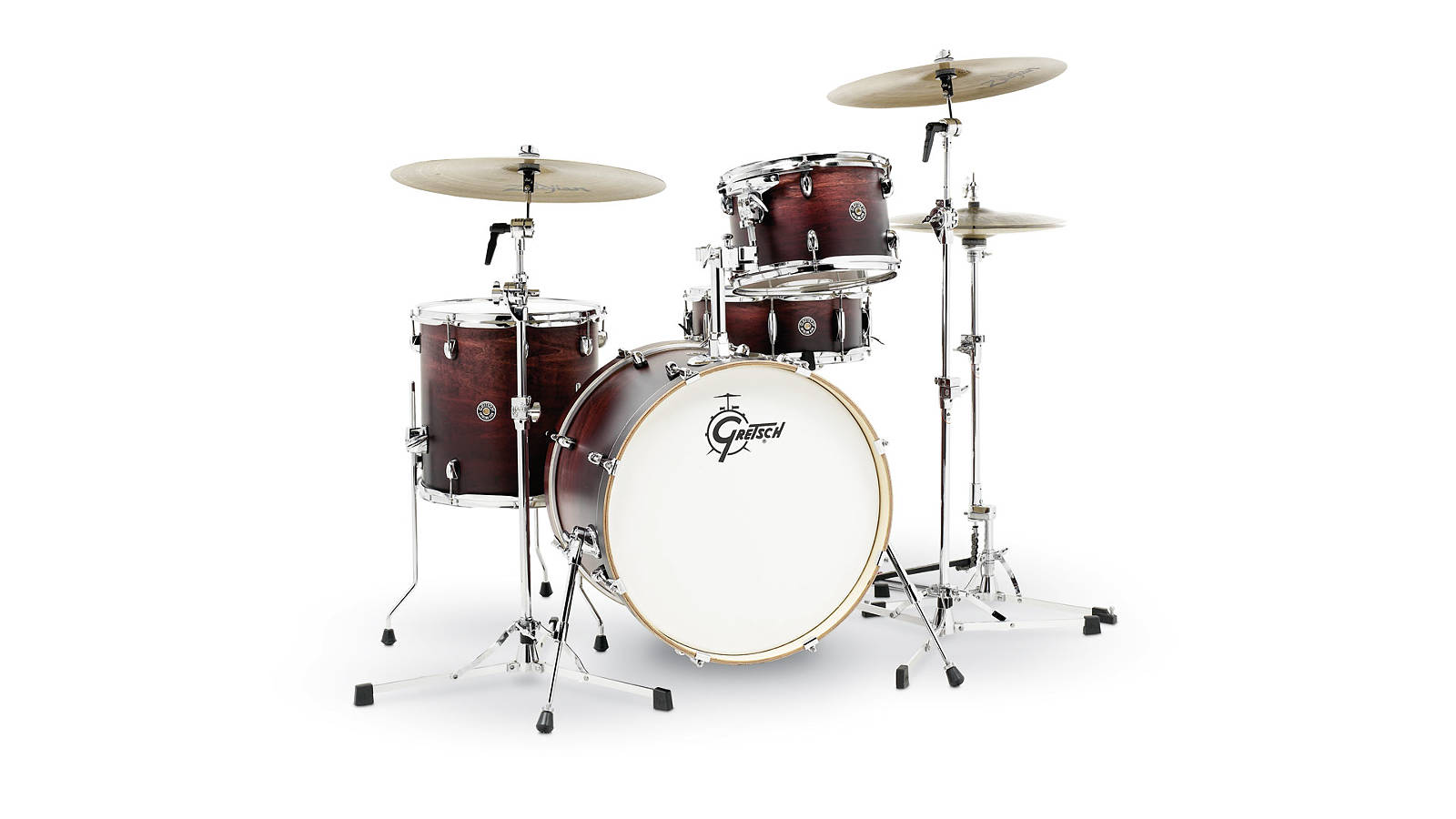 Gretsch Catalina Club Drumset Satin Antique Fade