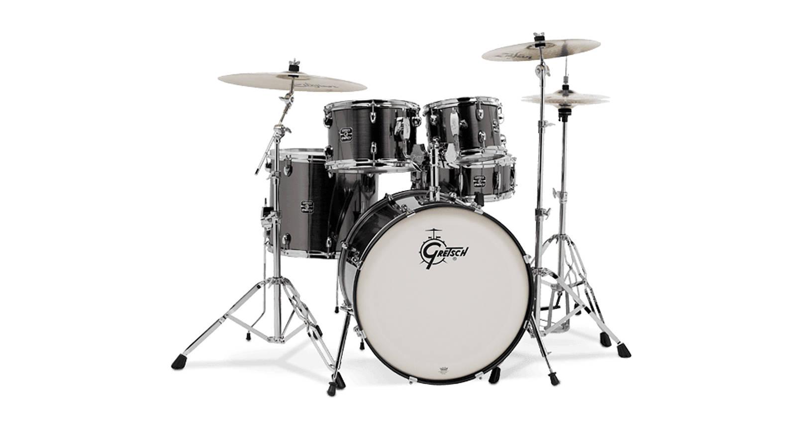 Gretsch Energy Drumset mit Hardware und Paiste Becken