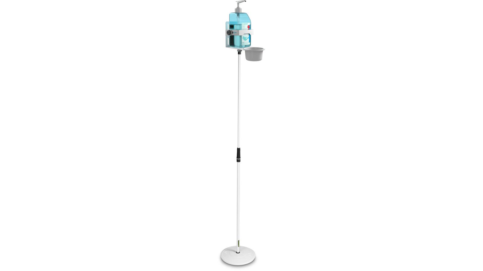 Gravity MS 23 DIS 01 W Universal-Desinfektionsmittelständer weiß
