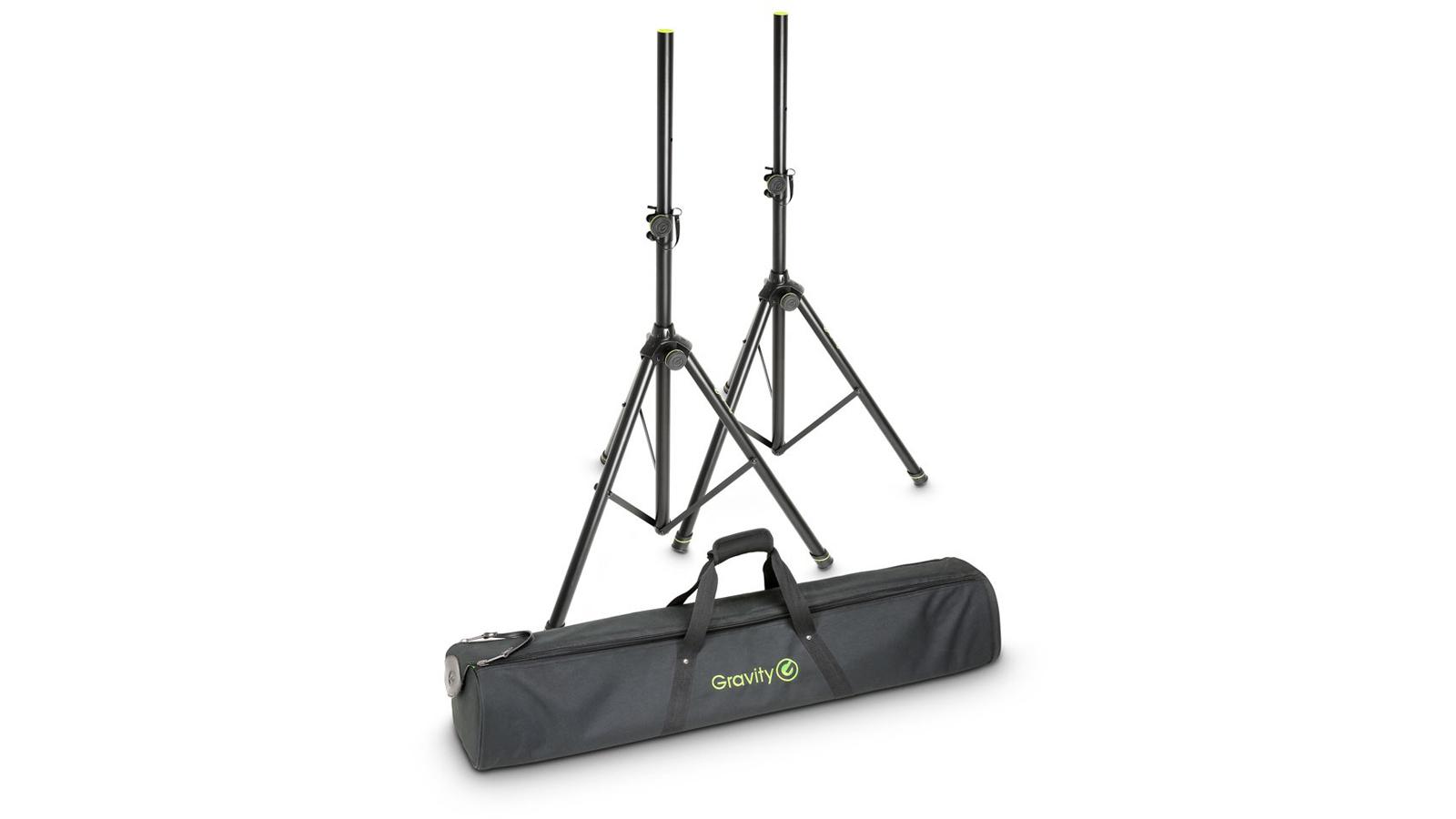 Gravity SS 5211 B Set - 2 Boxenständer mit Tasche