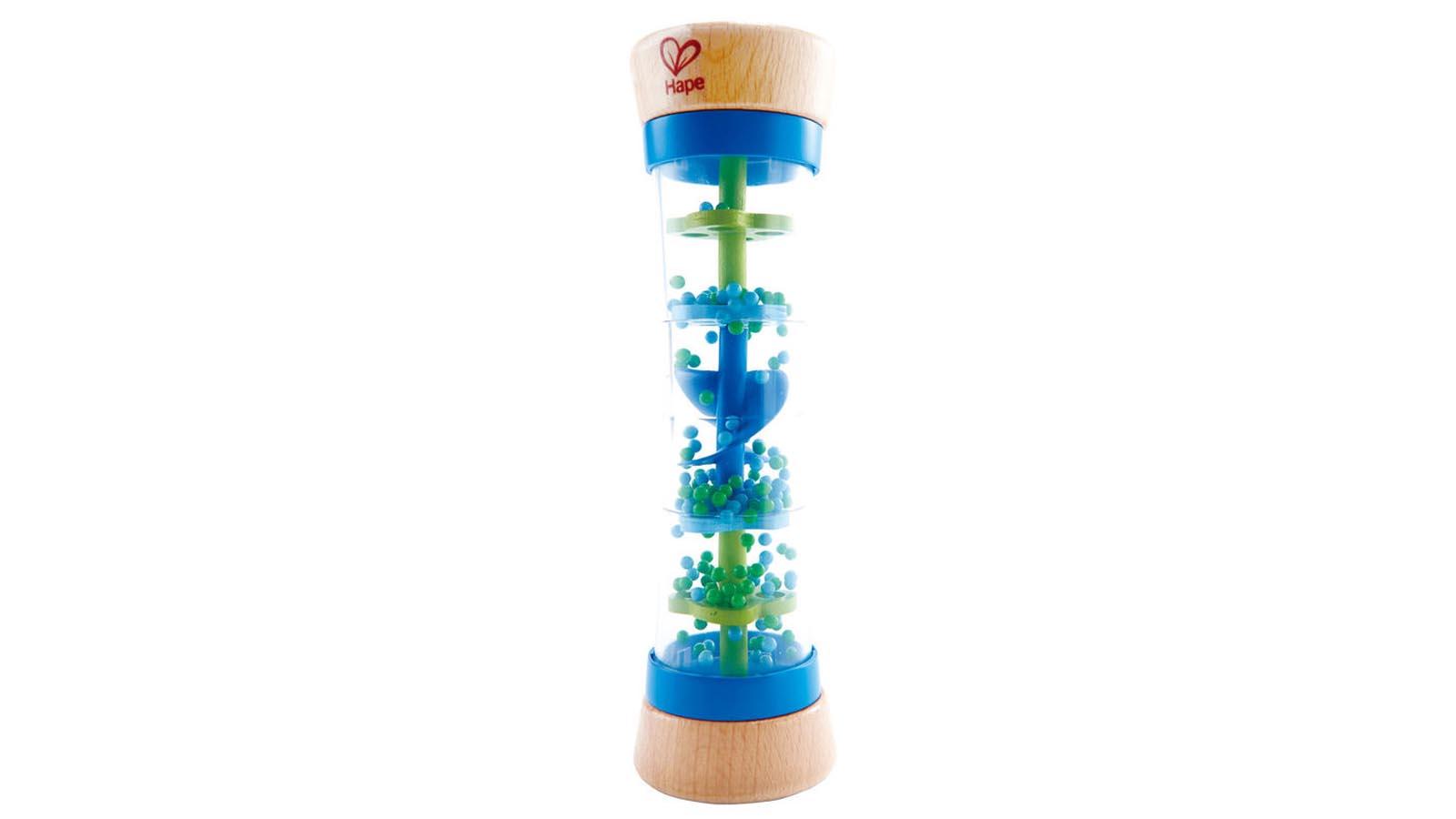 Hape Spielzeug Blauer Regenmacher