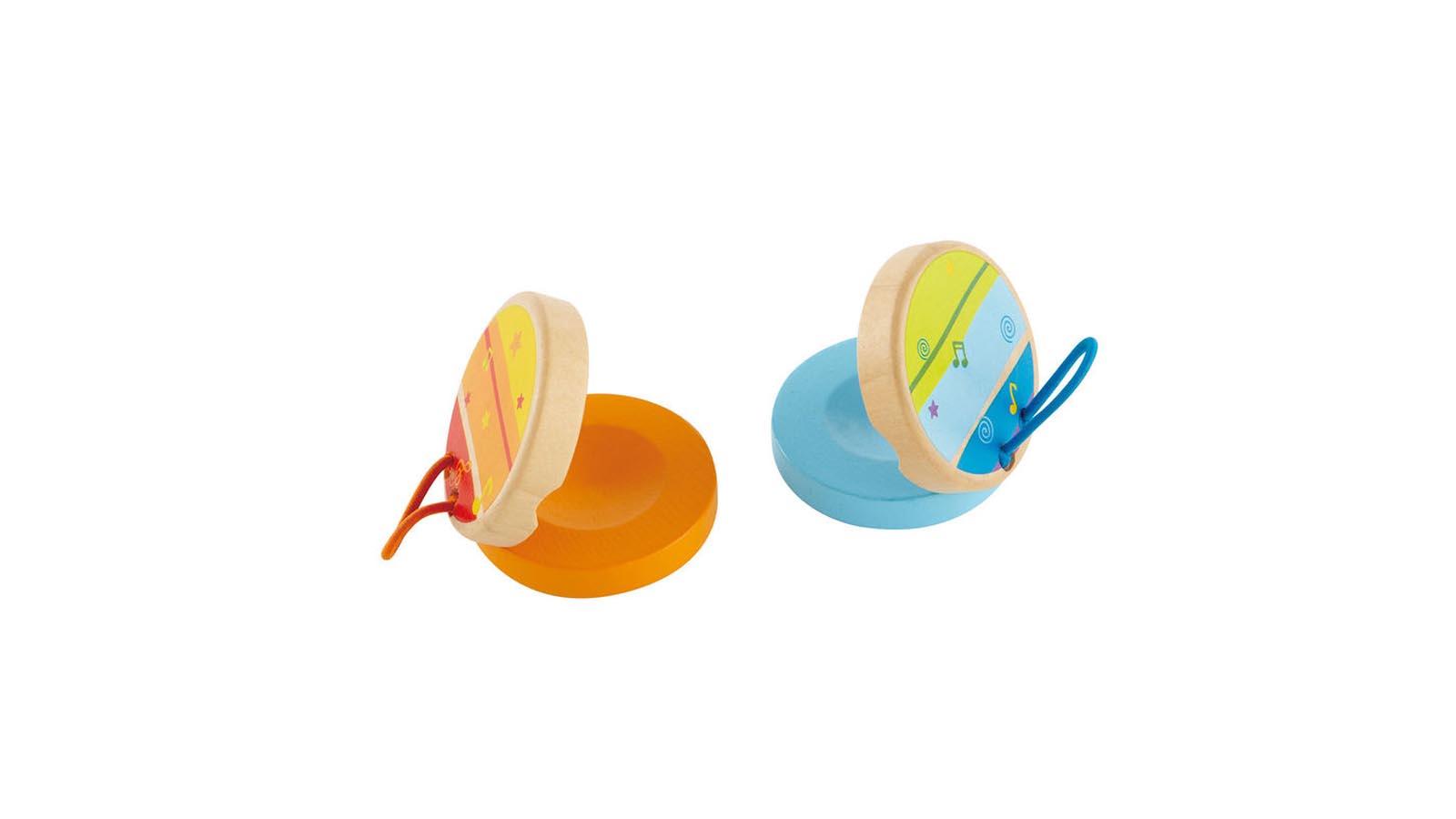 Hape Spielzeug Klicker-Klacker-Kastagnetten 1 Stück