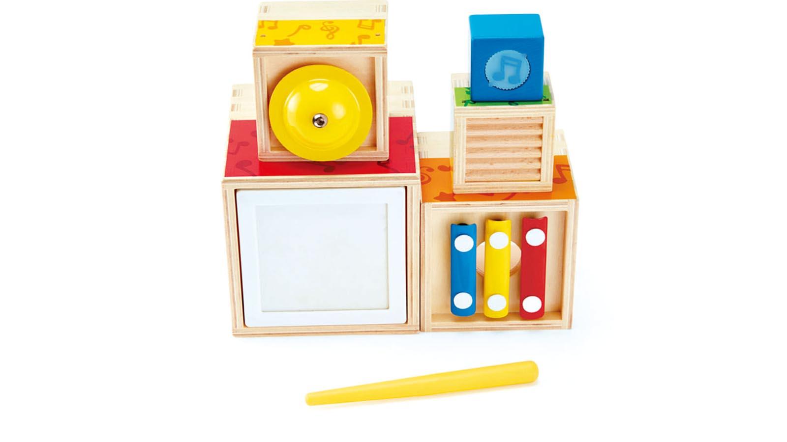 Hape Spielzeug Musik-Stapelwürfel