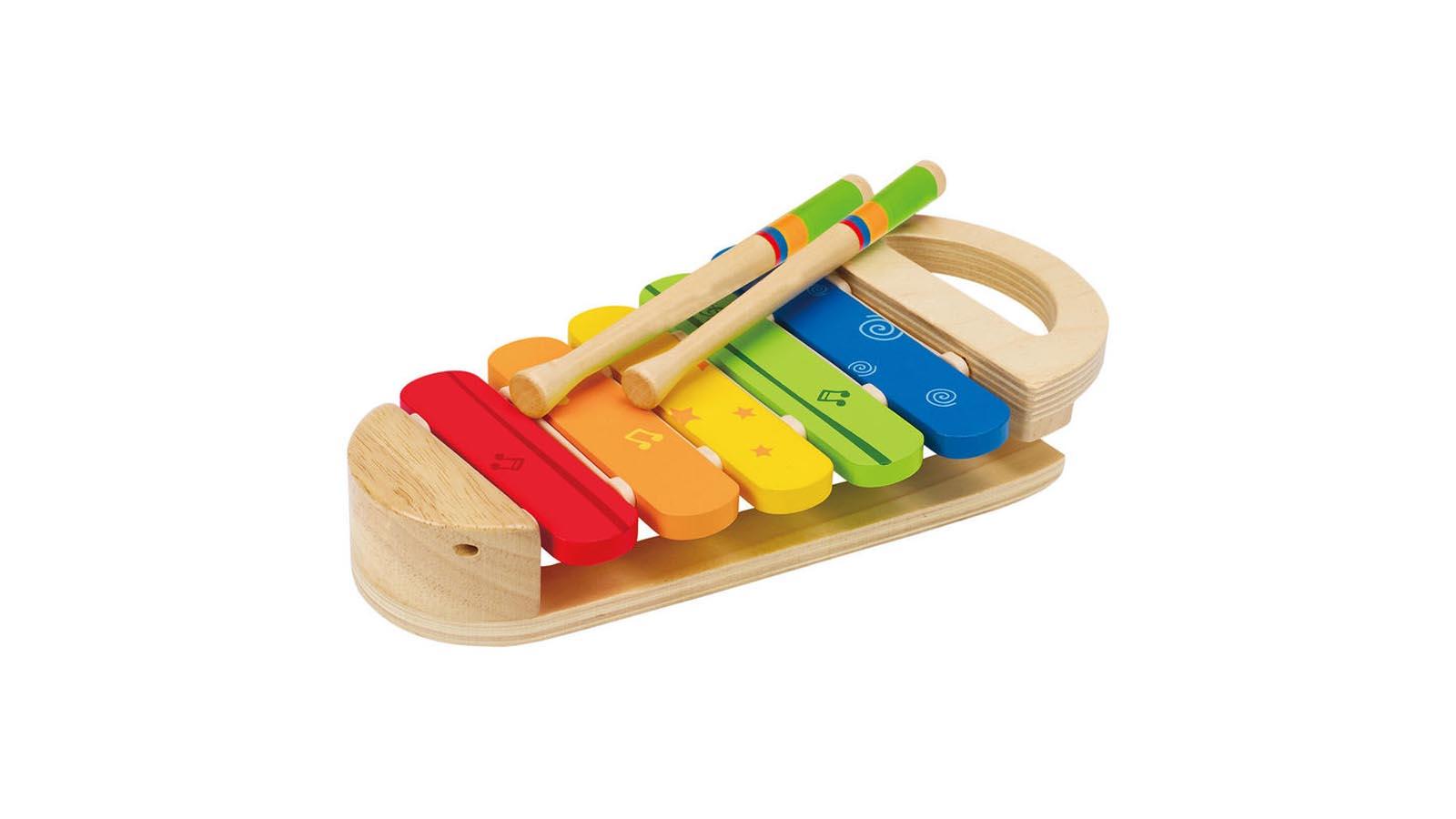 Hape Spielzeug Regenbogen-Xylophon