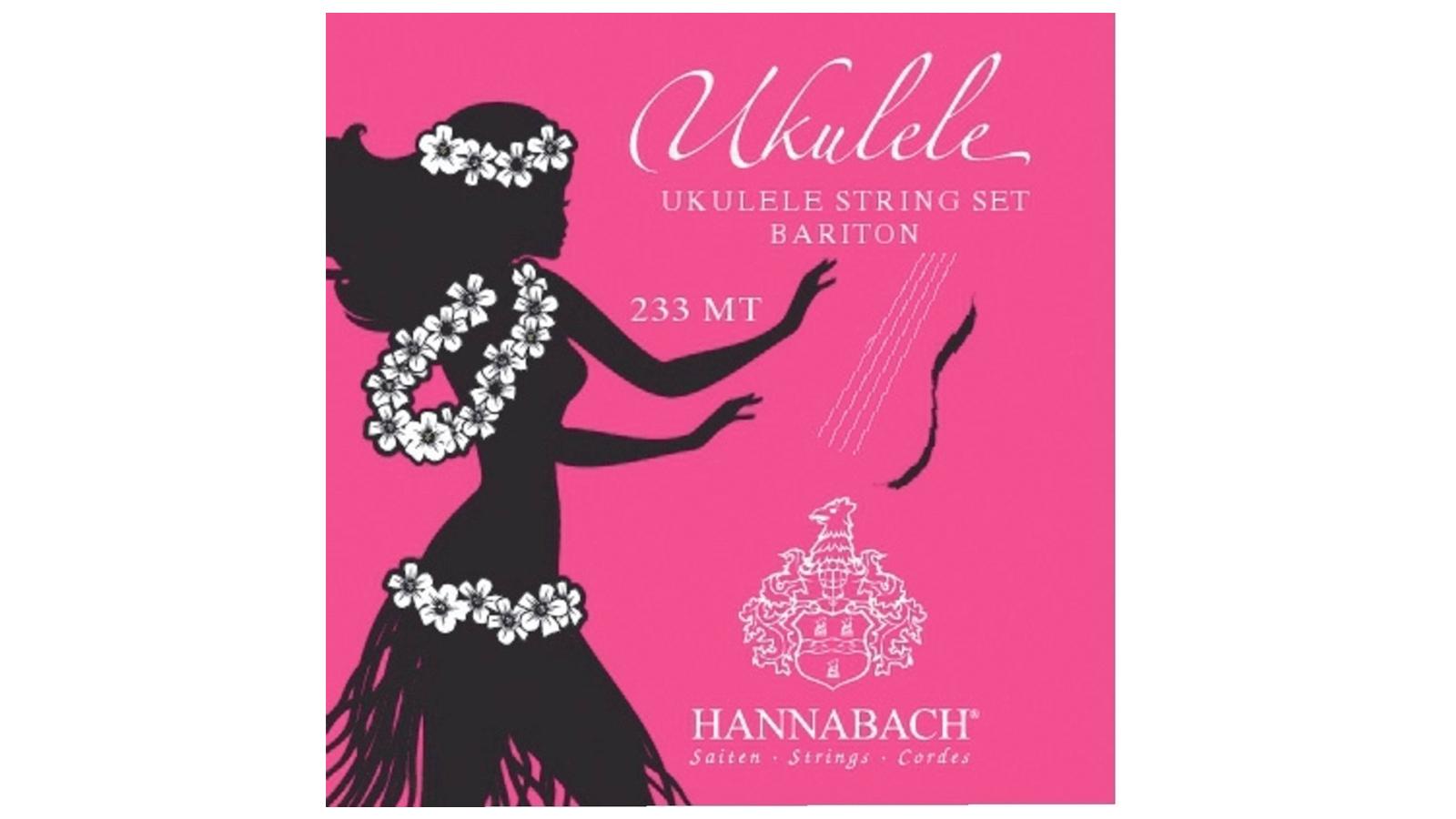 Hannabach 660645 Saiten für Bariton-Ukulele