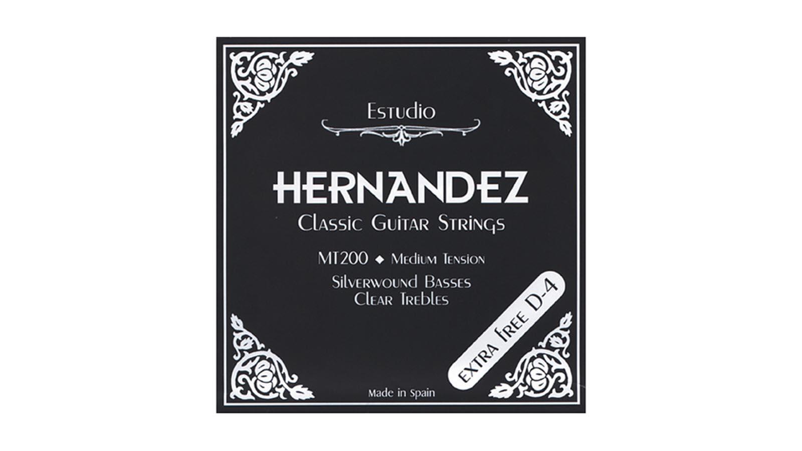 Hernandez Klassikgitarren Saiten schwarz