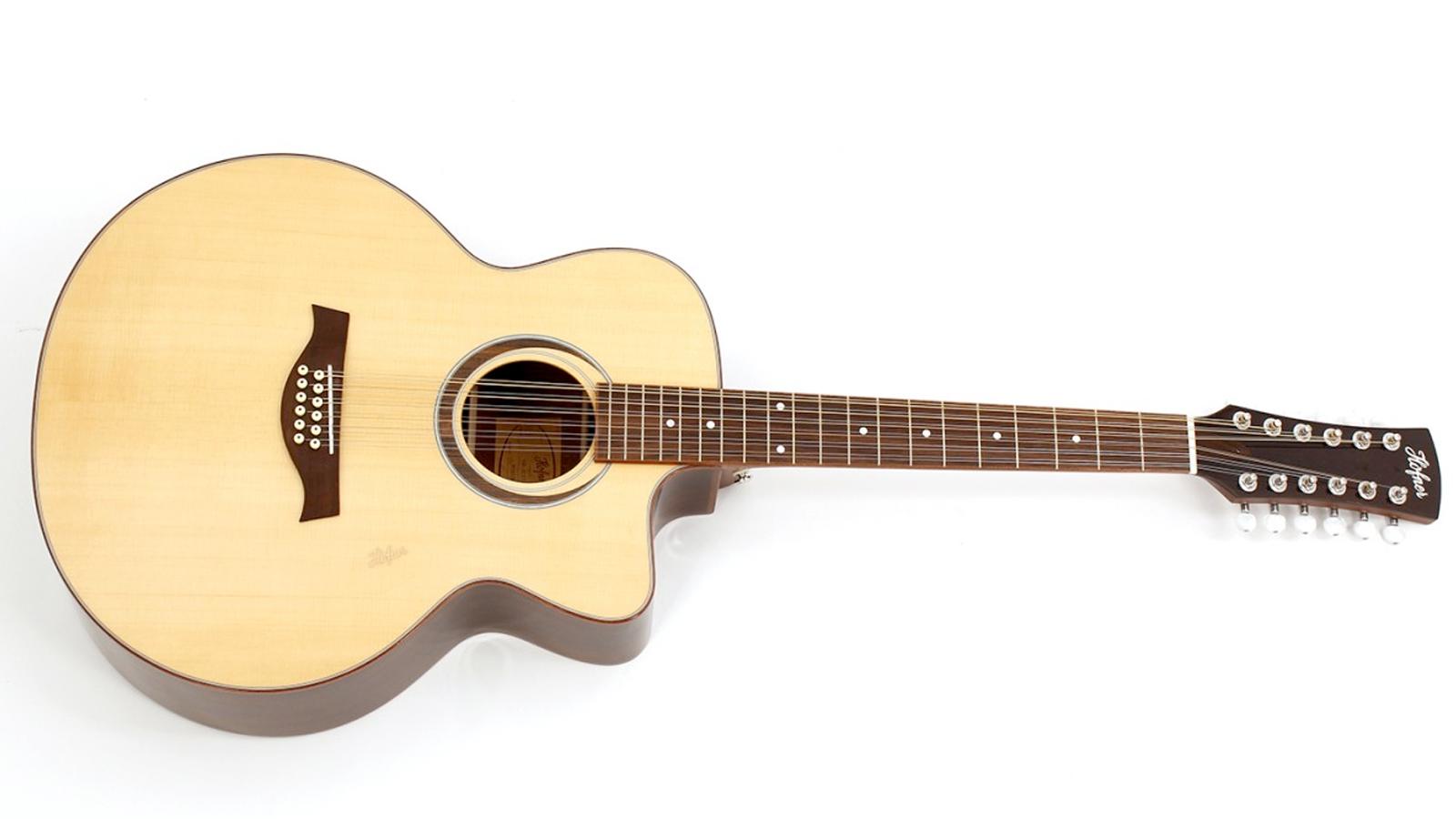 Höfner HA-JC17-N12-0 Westerngitarre 12-Saiter