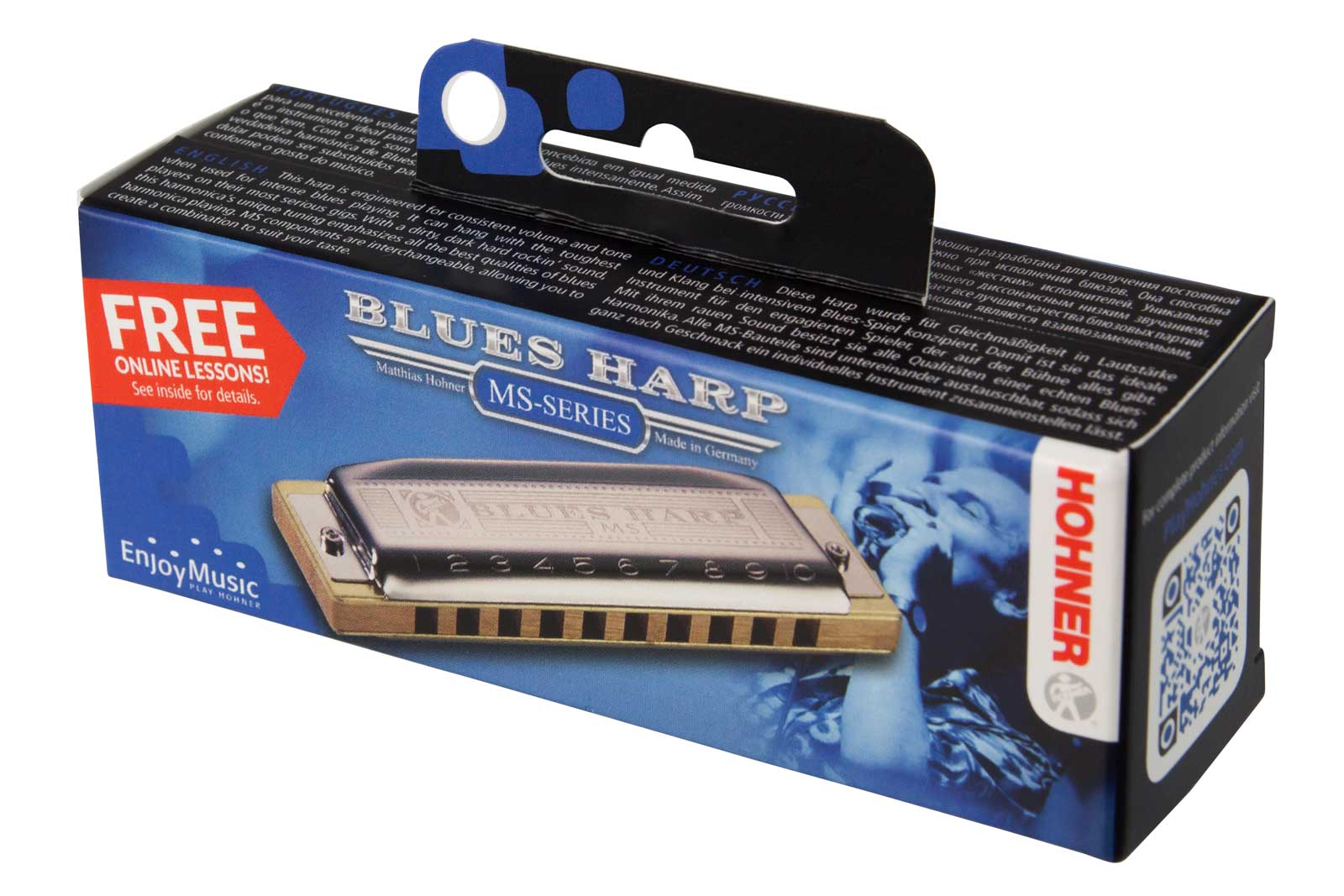 Hohner Blues Harp C MS
