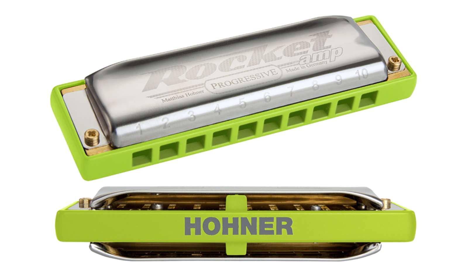 Hohner Rocket-Amp B-Dur Mundharmonika