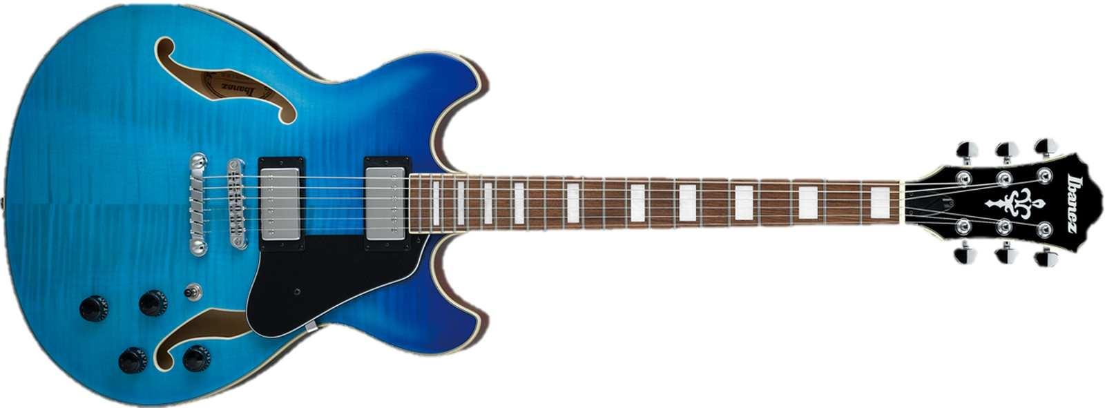 Ibanez AS73FM-AZG E-Gitarre