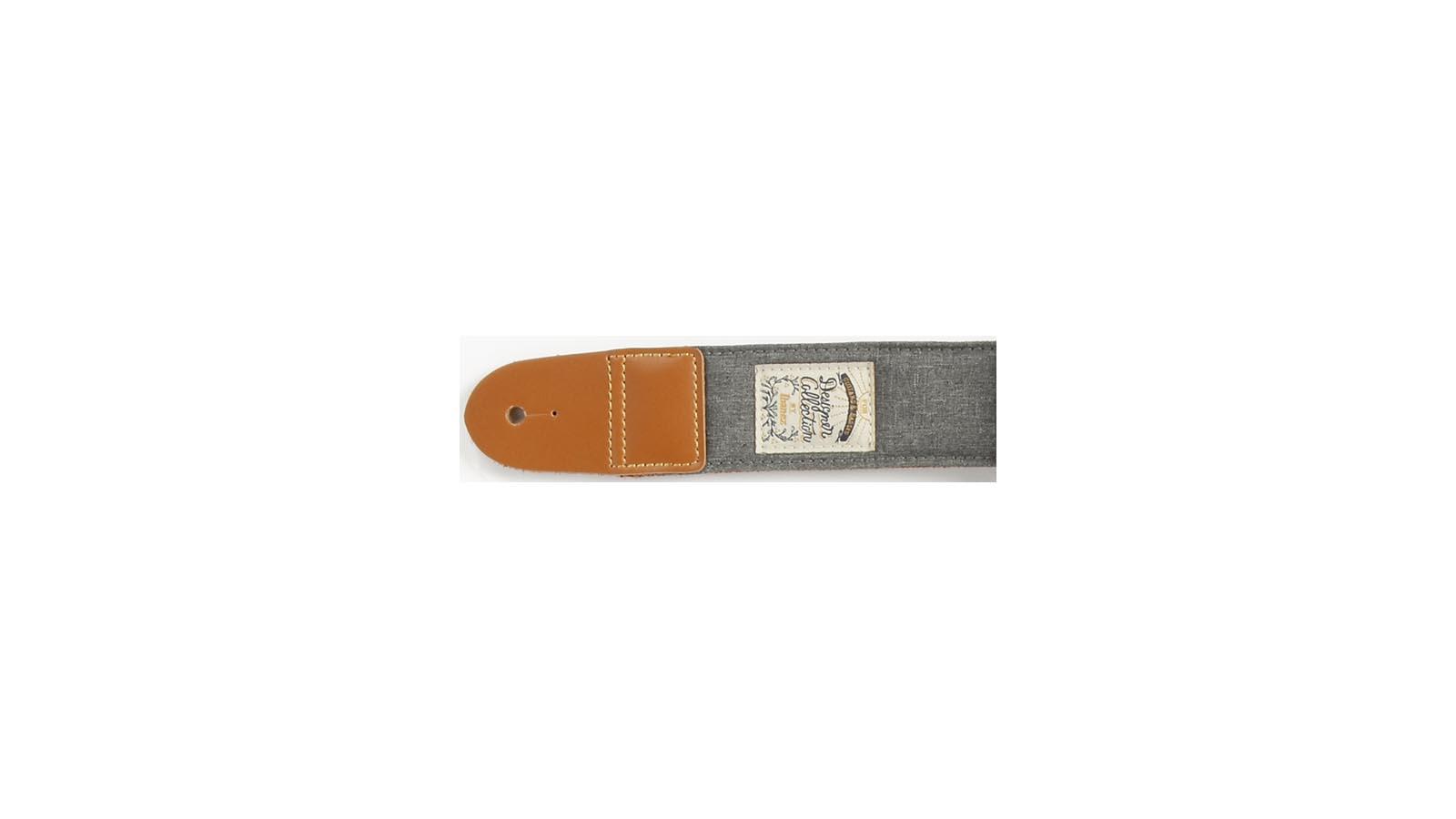 Ibanez DCS50D-CGY Designer Gurt Charcoal Gray