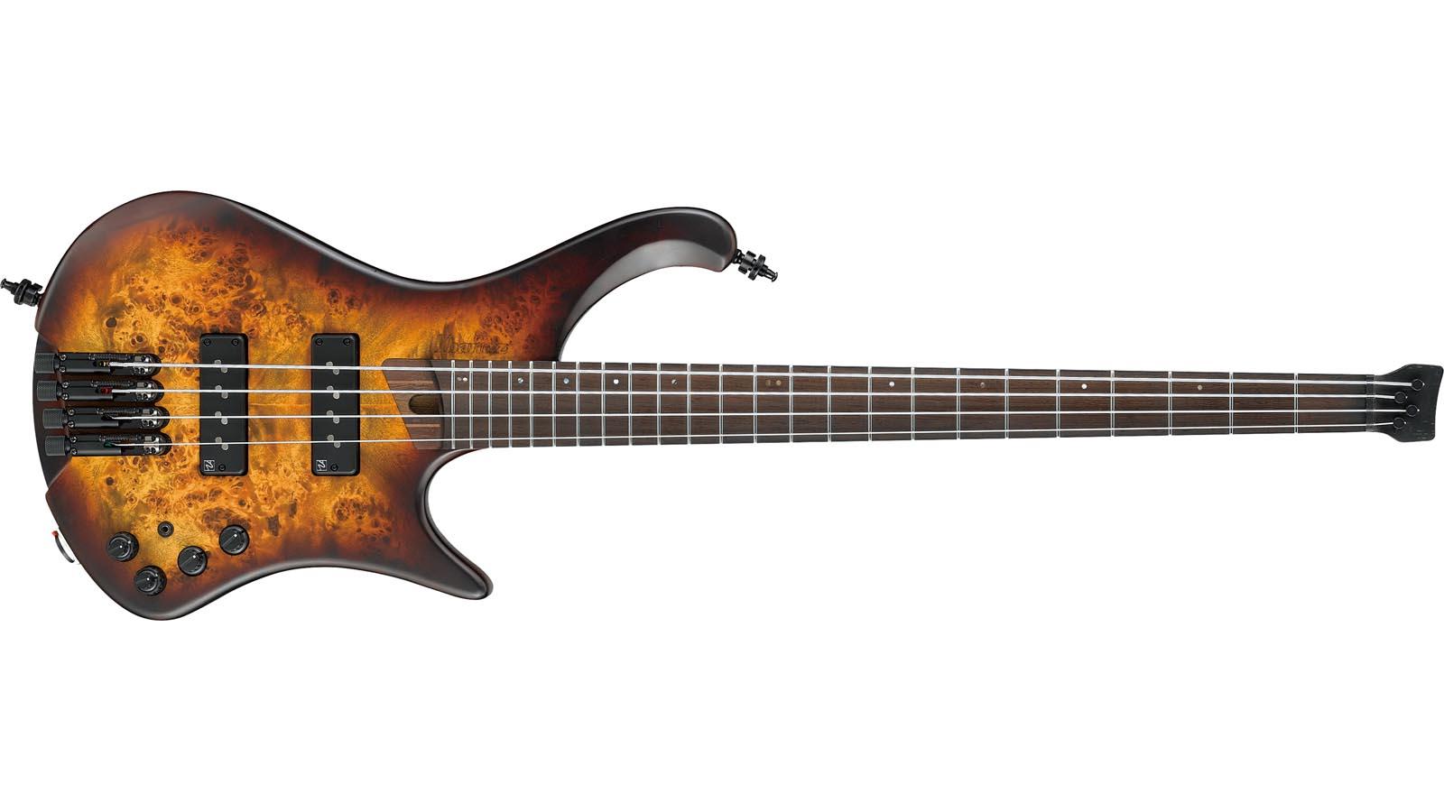 Ibanez EHB1500-DEF Headless Bass Soundgear Dragon Eye Burst Flat